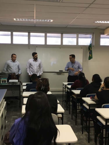 Iniciadas as aulas do curso de Assistente Administrativo